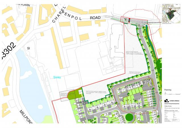 PA15/02777 | Proposed residential development of 222 dwellings, associated public open space and provision of land to facilitate the expansion of Penpol Primary School. | Land SSE Of Penpol School St Georges Road Hayle Cornwall